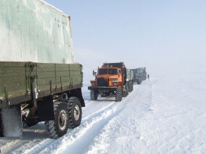 The Life Of Truckers In Russia