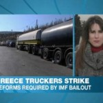 Greece Trucker Strike