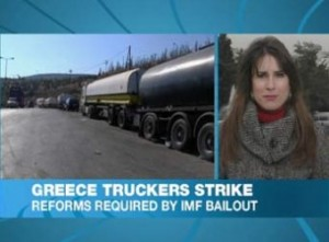 Truckers: A Closed Profession In Greece
