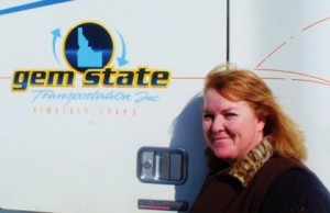 "2013 US Trucking News — Meet Candy ""The Girl"" Critchfield"