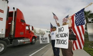 No To Mexican trucks