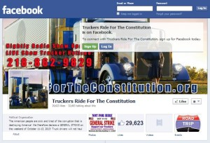 Truckers for the Constitution Facebook Page