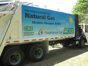CNG powered Truck