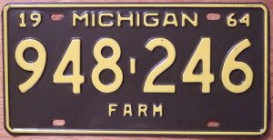 Michiganplatenumber