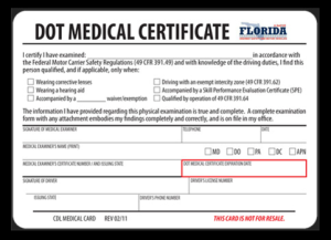 Deadline of Medical Certification Nears