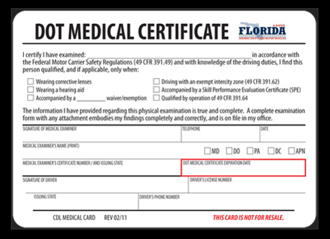 of Medical Certification Nears